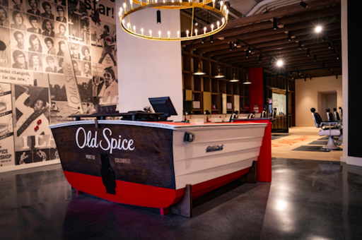 Old Spice causes a splash in Columbus, Ohio, February 2021