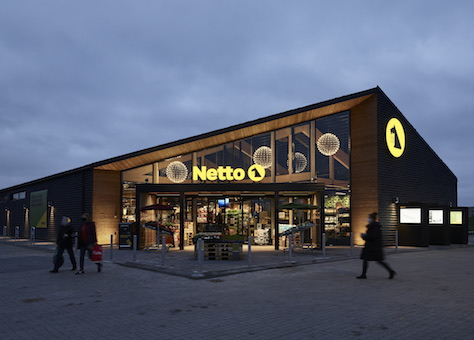 Netto, Horsens - the acceptable face of discounting, January 2021